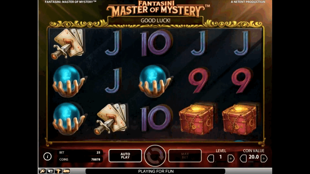 Бонусная игра Fantasini: Master Of Mystery 10