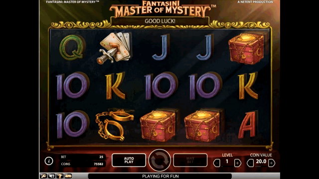 Бонусная игра Fantasini: Master Of Mystery 7