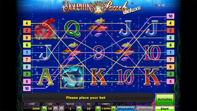 Бонусная игра Dolphin's Pearl Deluxe 6